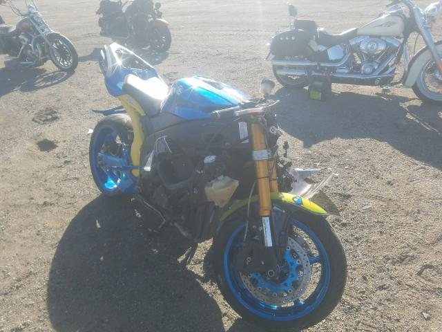 Salvage cars for sale from Copart Greenwood, NE: 2008 Yamaha YZFR1