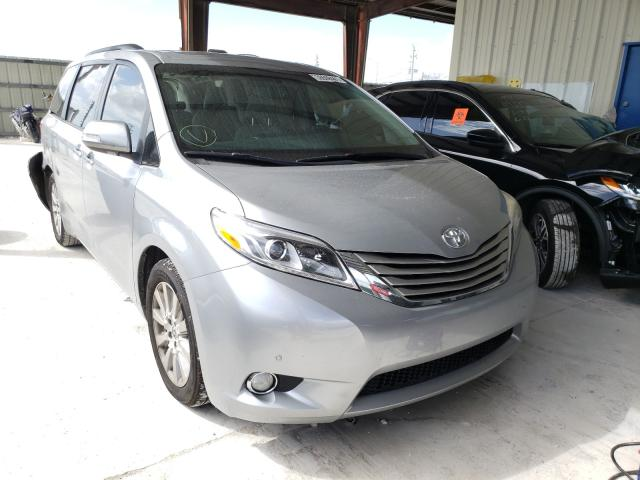 Salvage cars for sale from Copart Homestead, FL: 2016 Toyota Sienna XLE