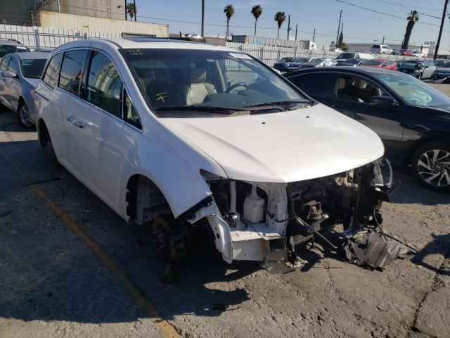 Salvage cars for sale from Copart Wilmington, CA: 2012 Honda Odyssey TO
