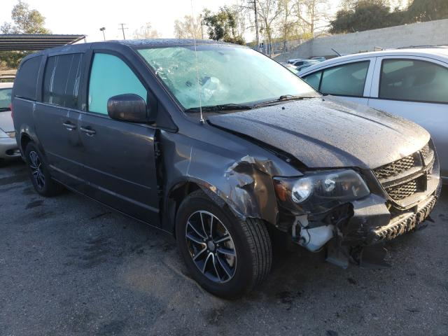 Salvage cars for sale from Copart Colton, CA: 2017 Dodge Grand Caravan