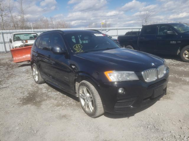 Salvage cars for sale from Copart Bowmanville, ON: 2014 BMW X3 XDRIVE3