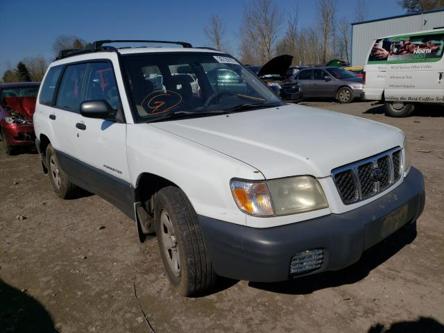 Subaru salvage cars for sale: 2001 Subaru Forester L
