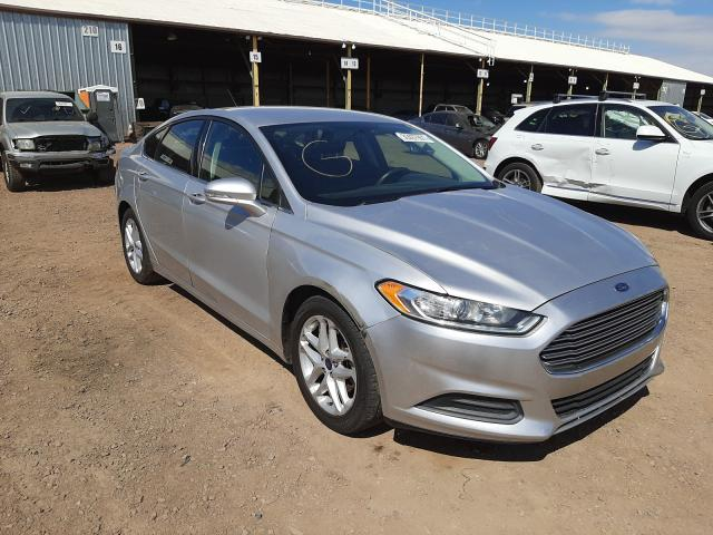 Salvage 2016 FORD FUSION - Small image. Lot 36467901