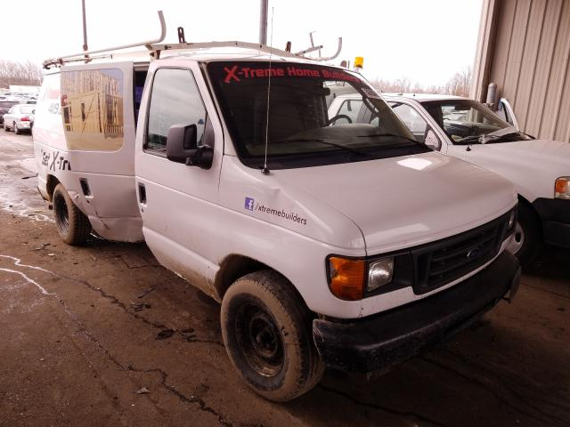 Salvage cars for sale from Copart Fort Wayne, IN: 2003 Ford Econoline