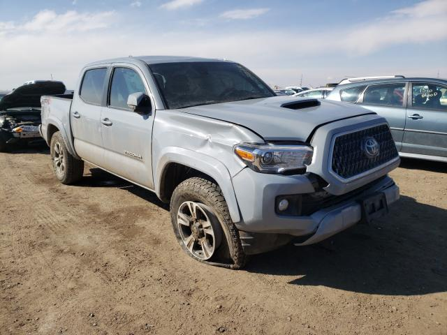 Salvage cars for sale from Copart Brighton, CO: 2019 Toyota Tacoma DOU