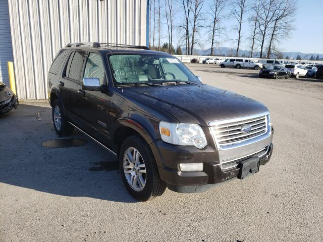 Salvage cars for sale from Copart Arlington, WA: 2007 Ford Explorer L