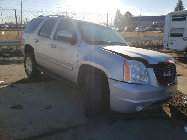 Salvage cars for sale from Copart Woodhaven, MI: 2012 GMC Yukon SLT