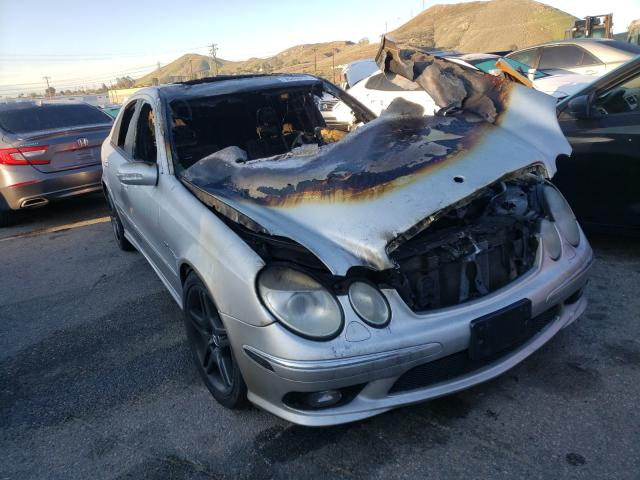 Mercedes-Benz salvage cars for sale: 2004 Mercedes-Benz E 55 AMG