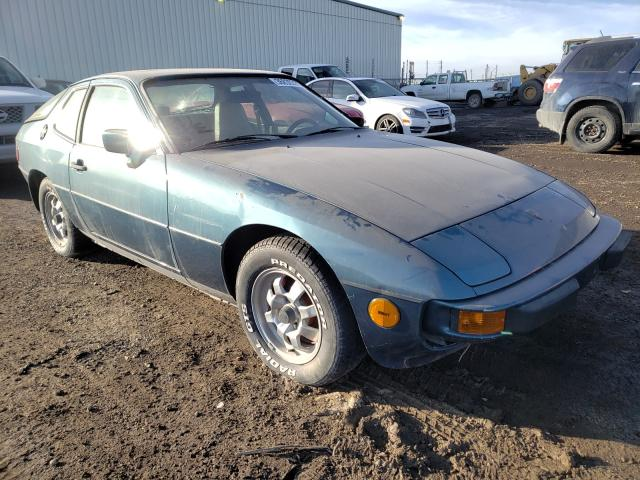 Salvage cars for sale from Copart Rocky View County, AB: 1979 Porsche 924