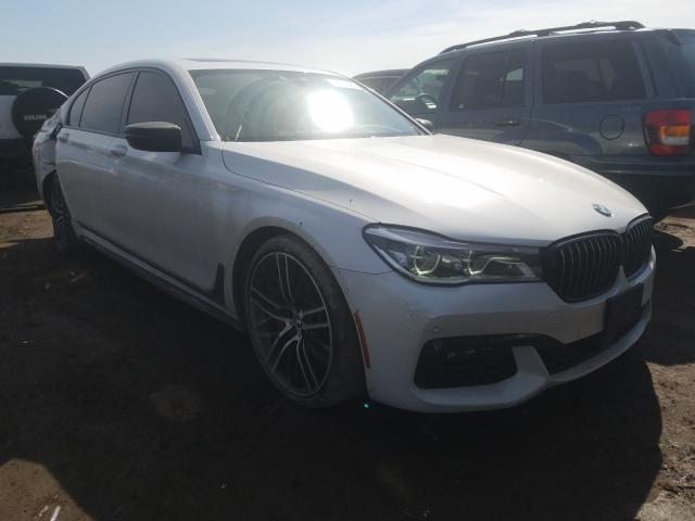 Salvage cars for sale from Copart Elgin, IL: 2016 BMW 750