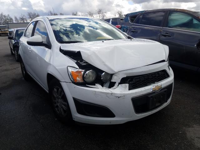 Salvage cars for sale from Copart Colton, CA: 2013 Chevrolet Sonic LT
