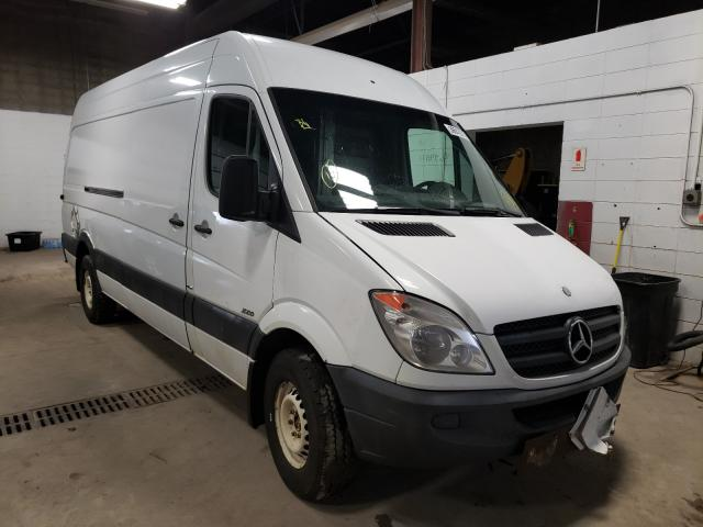 Salvage cars for sale from Copart Blaine, MN: 2012 Mercedes-Benz Sprinter 2