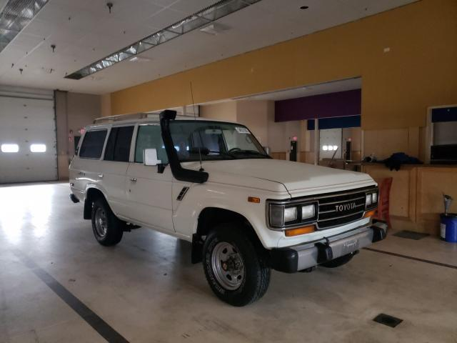 Salvage cars for sale from Copart Exeter, RI: 1988 Toyota Land Cruiser