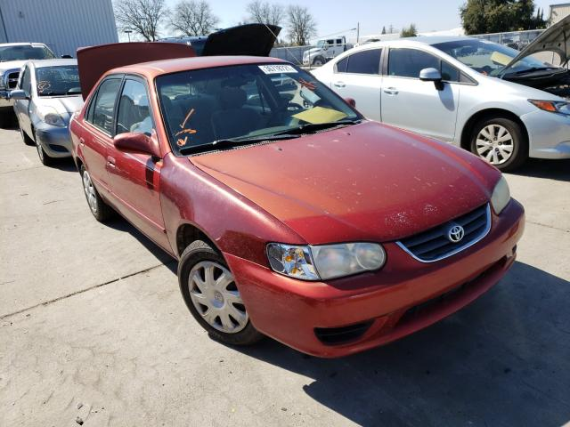 Salvage cars for sale from Copart Sacramento, CA: 2001 Toyota Corolla CE
