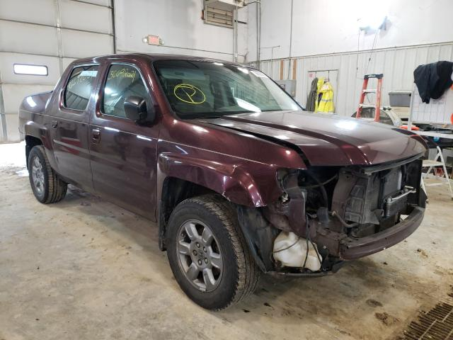 Salvage cars for sale from Copart Columbia, MO: 2008 Honda Ridgeline