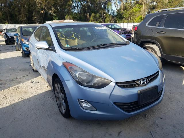 Salvage cars for sale from Copart Ocala, FL: 2012 Hyundai Elantra GL