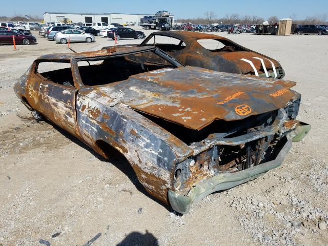 Chevrolet Chevelle salvage cars for sale: 1971 Chevrolet Chevelle