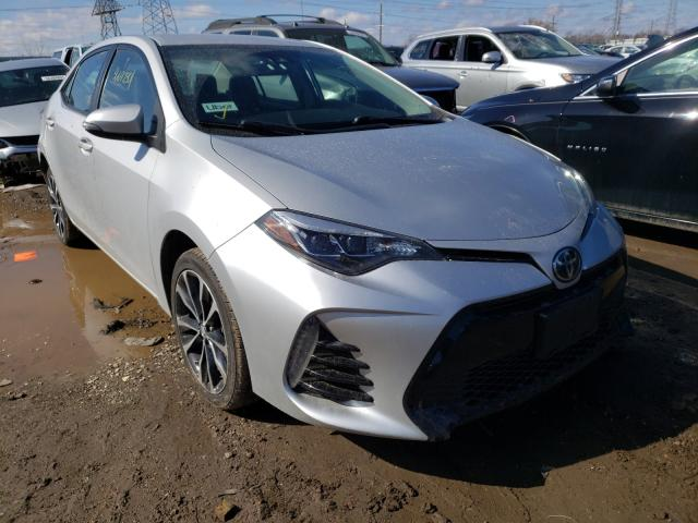 Salvage cars for sale from Copart Elgin, IL: 2017 Toyota Corolla L