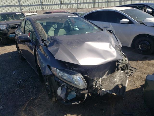 Honda salvage cars for sale: 2014 Honda Civic EX