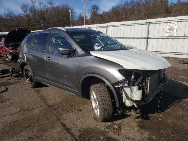 Salvage cars for sale at West Mifflin, PA auction: 2018 Nissan Rogue S