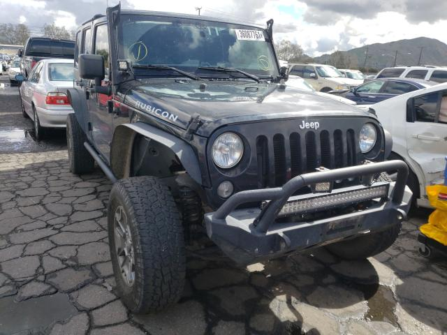 Salvage cars for sale from Copart Colton, CA: 2015 Jeep Wrangler U