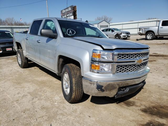 Salvage cars for sale from Copart Wichita, KS: 2014 Chevrolet Silverado