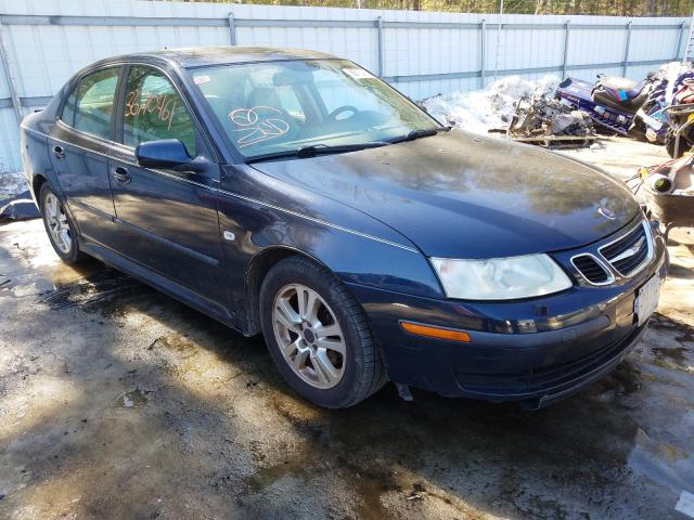 Salvage cars for sale from Copart Lyman, ME: 2007 Saab 9-3