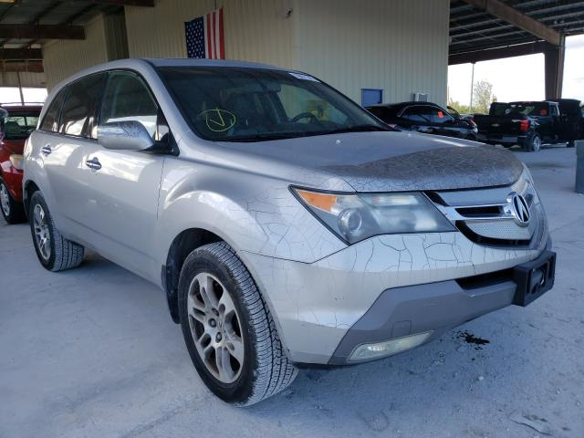 Salvage cars for sale from Copart Homestead, FL: 2008 Acura MDX Techno