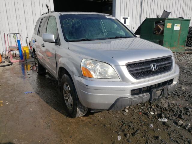 Vehiculos salvage en venta de Copart Windsor, NJ: 2005 Honda Pilot EXL