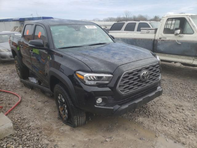 Salvage cars for sale from Copart Hueytown, AL: 2021 Toyota Tacoma DOU