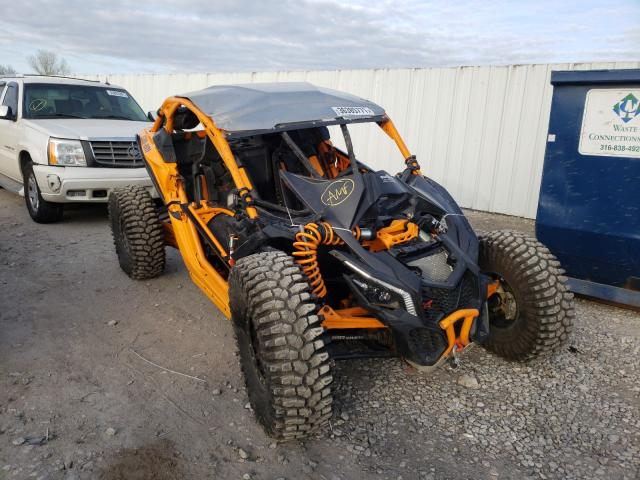 Salvage cars for sale from Copart Wichita, KS: 2020 Can-Am Maverick X
