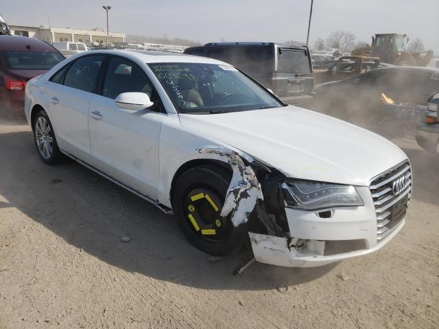 Salvage cars for sale from Copart Indianapolis, IN: 2014 Audi A8 Quattro