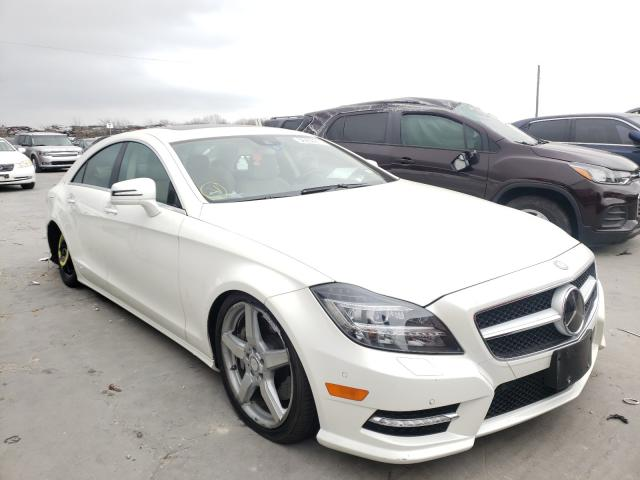 Mercedes-Benz salvage cars for sale: 2014 Mercedes-Benz CLS 550