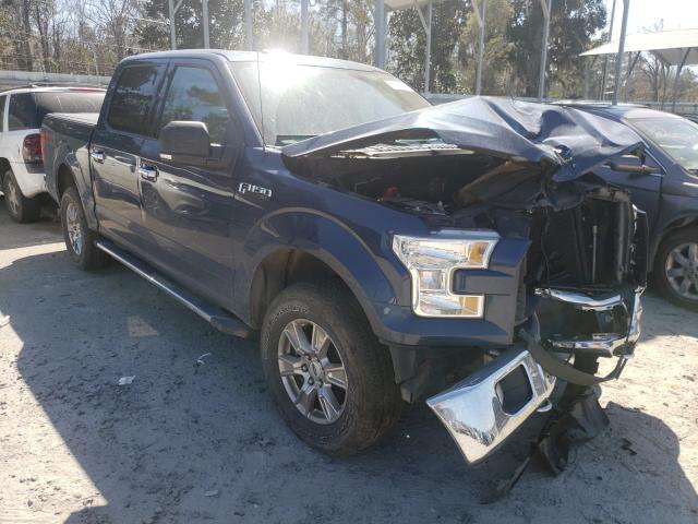 Salvage trucks for sale at Savannah, GA auction: 2016 Ford F150 Super