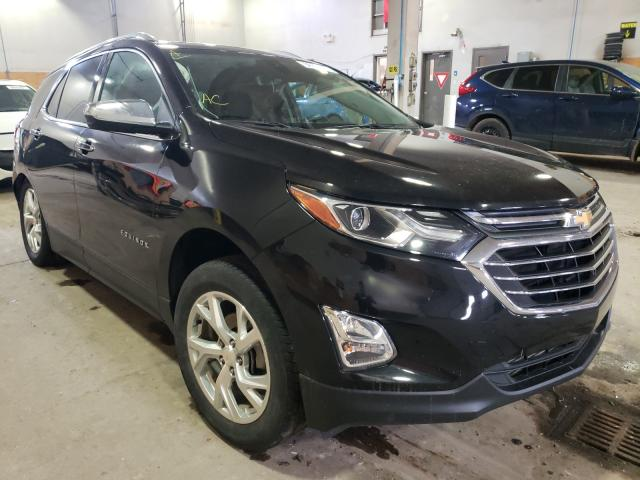 Salvage cars for sale from Copart Moncton, NB: 2018 Chevrolet Equinox PR