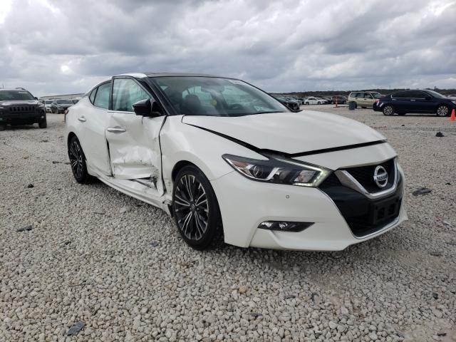 2018 Nissan Maxima 3.5 en venta en New Braunfels, TX