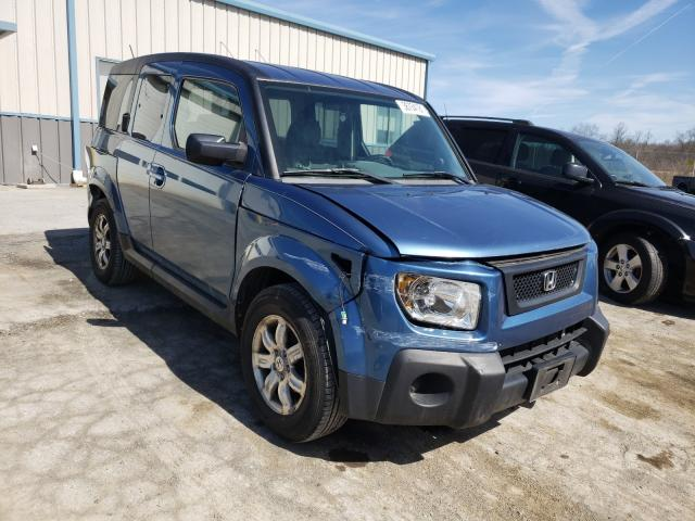 Salvage cars for sale from Copart Chambersburg, PA: 2006 Honda Element EX