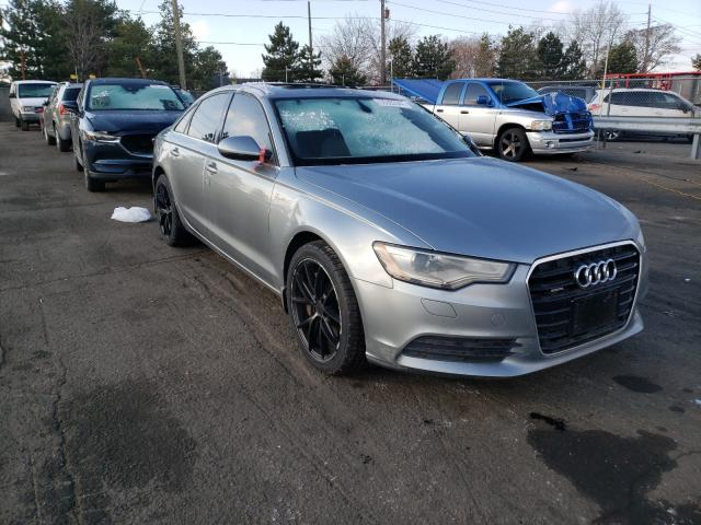Salvage cars for sale from Copart Denver, CO: 2012 Audi A6 Premium