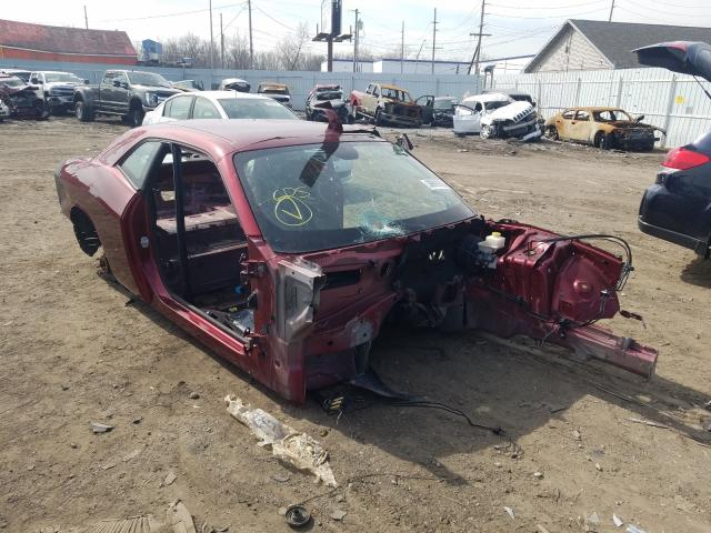 Salvage cars for sale from Copart Hammond, IN: 2018 Dodge Challenger