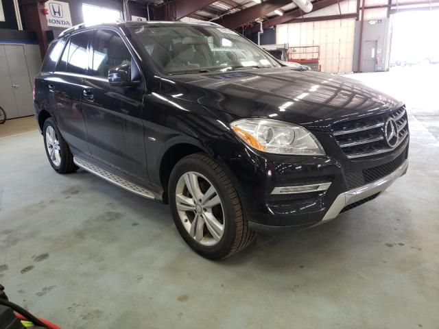 Mercedes-Benz salvage cars for sale: 2012 Mercedes-Benz ML 350 BLU