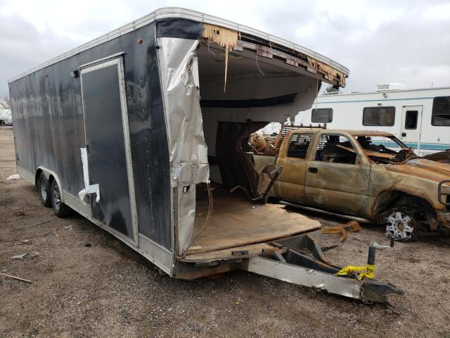 Interstate salvage cars for sale: 2015 Interstate Cargo Trailer