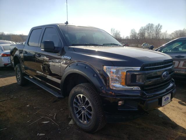 Salvage cars for sale from Copart Columbia Station, OH: 2020 Ford F150 Super
