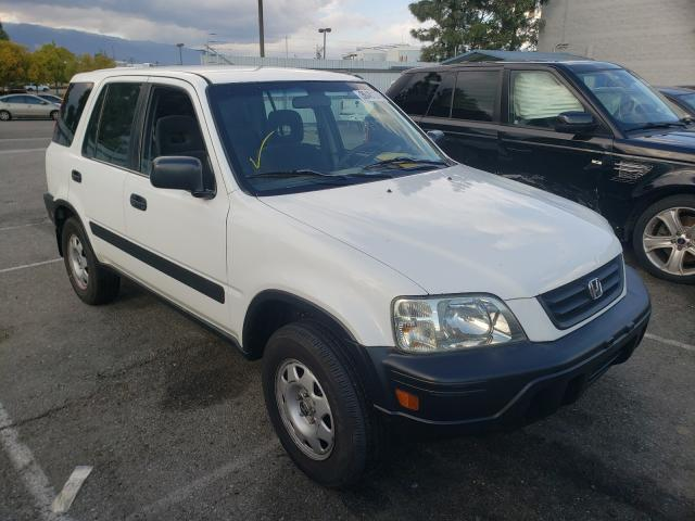 Salvage cars for sale from Copart Rancho Cucamonga, CA: 2001 Honda CR-V LX