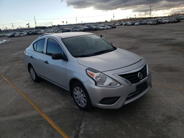 Nissan salvage cars for sale: 2015 Nissan Versa S