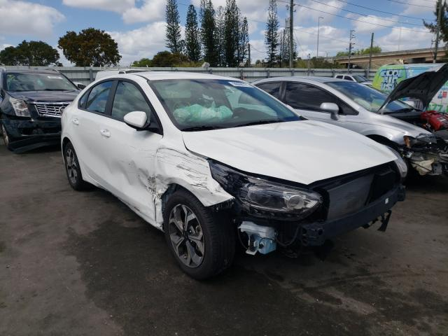 KIA salvage cars for sale: 2020 KIA Forte FE
