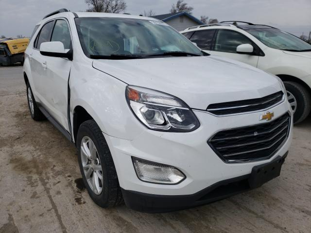 Salvage cars for sale from Copart Sikeston, MO: 2016 Chevrolet Equinox LT
