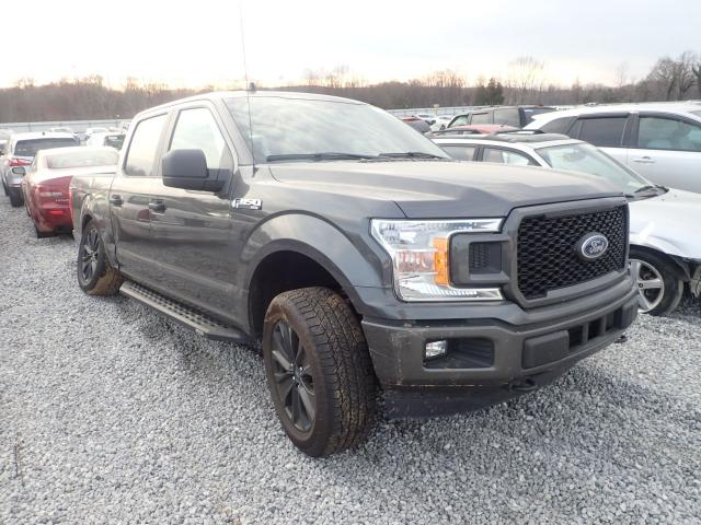 Salvage cars for sale from Copart Spartanburg, SC: 2020 Ford F150 Super