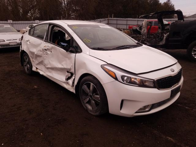 Salvage cars for sale from Copart London, ON: 2018 KIA Forte LX