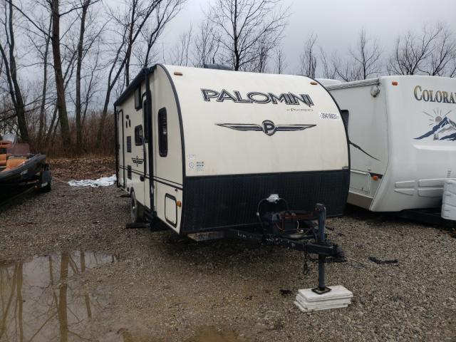 Palomino salvage cars for sale: 2015 Palomino Camper