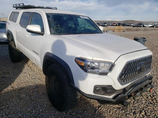Salvage cars for sale from Copart Magna, UT: 2019 Toyota Tacoma DOU